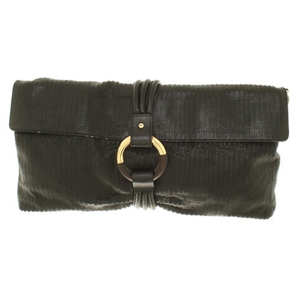 Escada clutch made of leather