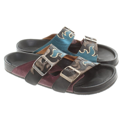 Isabel Marant Etoile Sandals in patchwork style