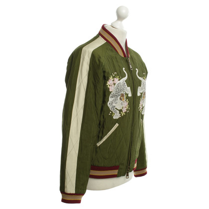 Chloé Black / green bomber jacket reversible