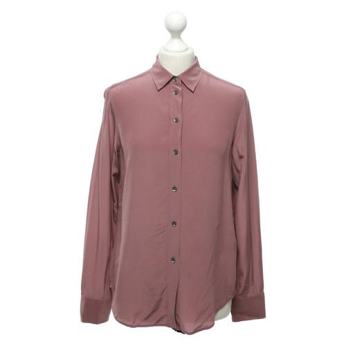 a9e8b0f6eb584 Filippa K Silk blouse in blush pink - Second Hand Filippa K Silk ...