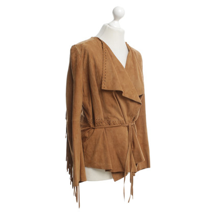 Plein Sud Leather jacket in the Indian style