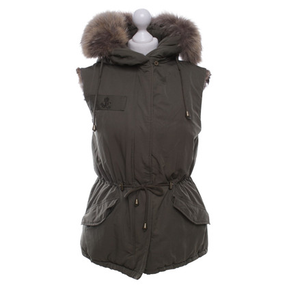 Other Designer Witty Knitters - vest in olive green