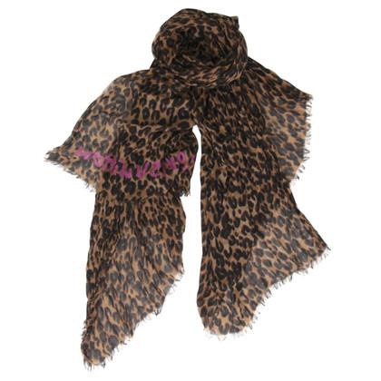 Louis Vuitton Stola di cachemire Leopard