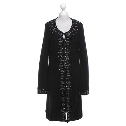 Maliparmi Wool coat in black