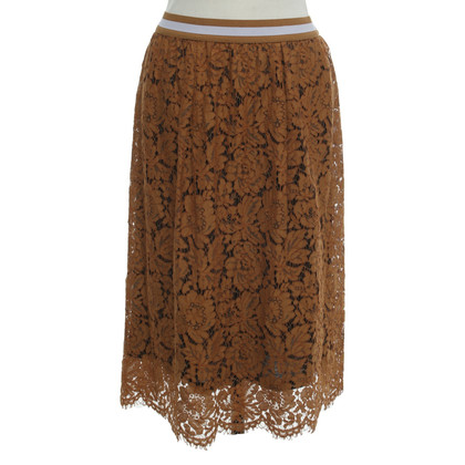 Twin-Set Simona Barbieri skirt with lace details