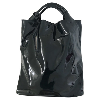 Jil Sander Patent leather Tote Bag