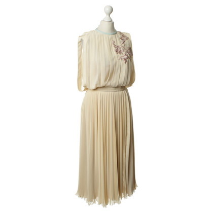 Aquilano Rimondi Pleated dress in beige