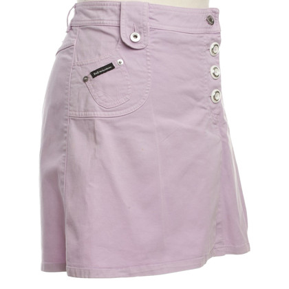 Dolce & Gabbana Jeans skirt in Lilac