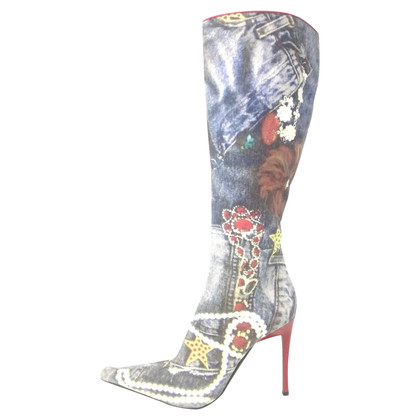 Casadei Boots with print
