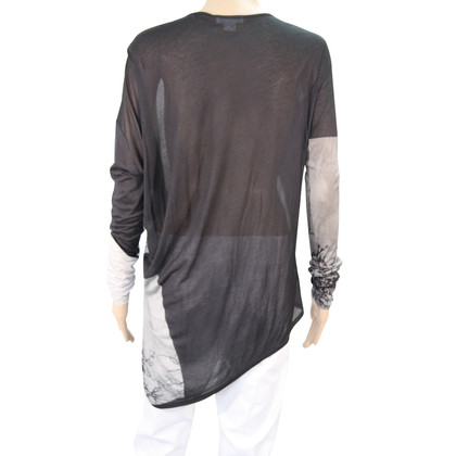 Helmut Lang Top met patroon
