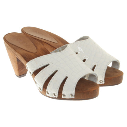 Marc Cain Sandals in white