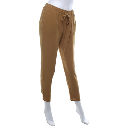 Hartford trousers in yellow
