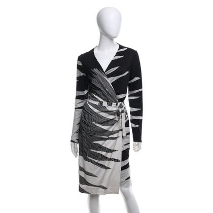 Diane von Furstenberg Wikkeljurk gemaakt van zijde