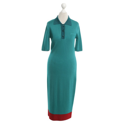 Escada Knitted dress in Tricolor