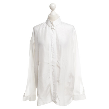 Schumacher Silk blouse in white