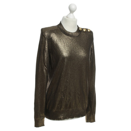 Balmain X H&M Gold-coloured sweater