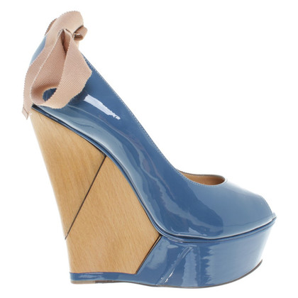 Lanvin Wedges with wooden heel