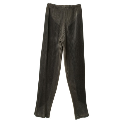 Issey Miyake Pleated trousers in grey