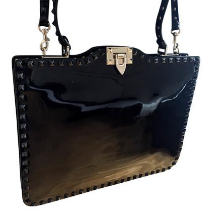 Valentino  Rockstud Lederhandtasche