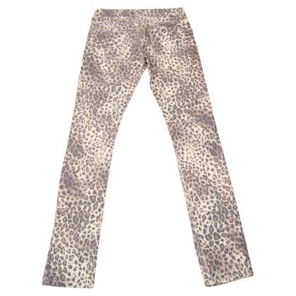 Roberto Cavalli trousers with animal print