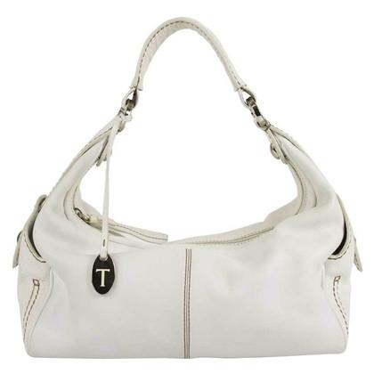 Tod's White Shoulder Bag