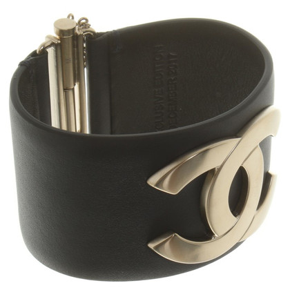 Chanel Leather bangle