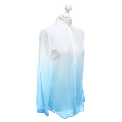 Hugo Boss Blouse in white / blue