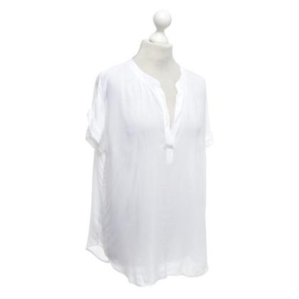 Velvet Top en blanc