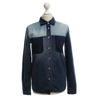 Stella McCartney Denim shirt in blue