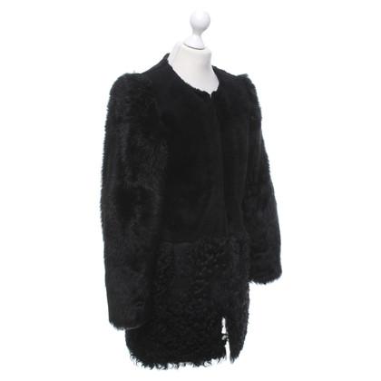 Karl Lagerfeld Coat van schapenvacht