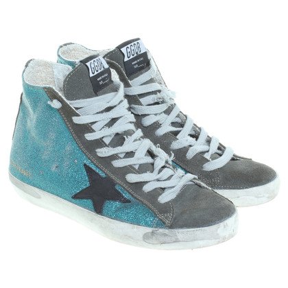 Golden Goose Sneakers met glitter effect