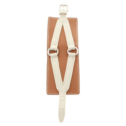 Hermès Armband in White