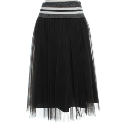 Brunello Cucinelli Tulle skirt in grey