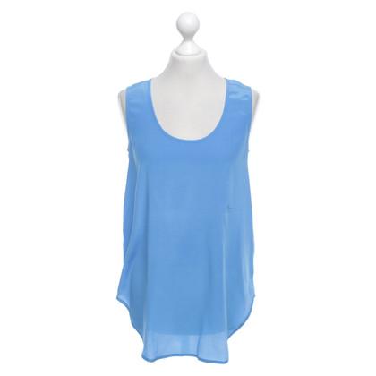 Iris von Arnim Silk top in blue