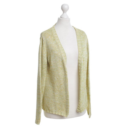 Dorothee Schumacher Cardigan in yellow/green