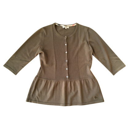 Burberry Sweater with pigtails