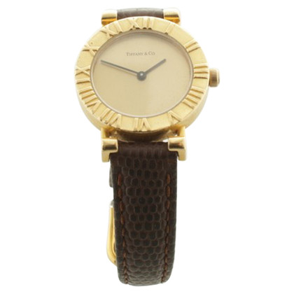Tiffany & Co. Atlas gold watch