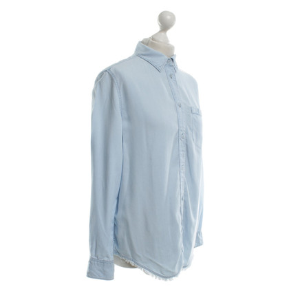 Acne Bluse in Hellblau
