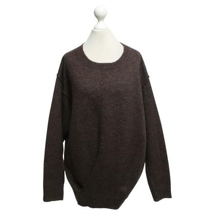 Isabel Marant Etoile Oversized Pullover in Dunkelbraun