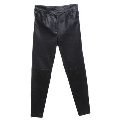 Louis Vuitton Leather pants in black