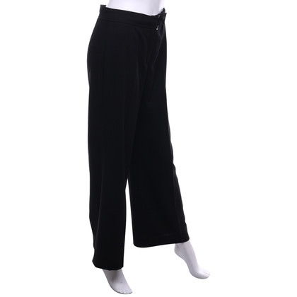 Escada Pantaloni Marlene in nero