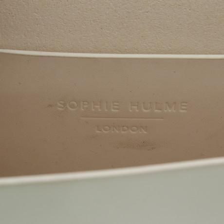 Sophie Hulme Umhängetasche in Weiß Weiß Billig Exklusiv Freier Versandauftrag Neuer Stil Bester Speicher Billig Online Zu Bekommen sfU7Xad3S