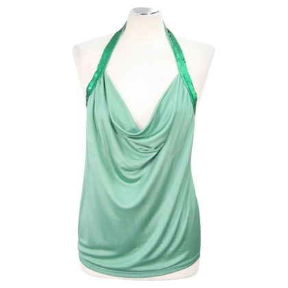 Ted Baker Silk top in green