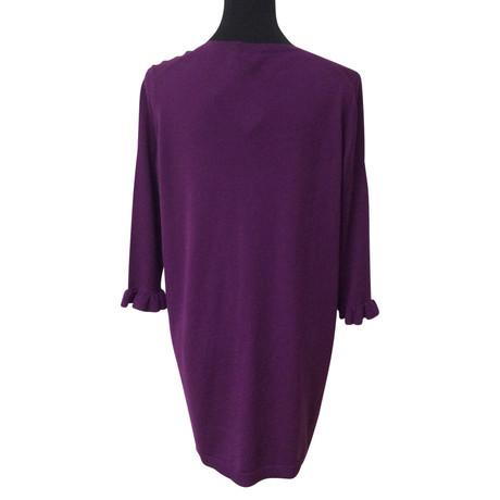Günstig Kaufen Sehr Billig Rabatt Veröffentlichungstermine Miu Miu Longpullover Violett 0V6DgR1M4C