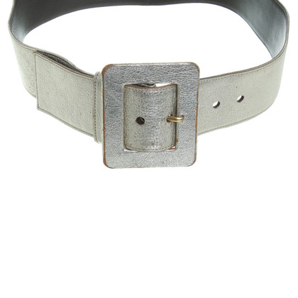 Yves Saint Laurent Belt in gold metallic