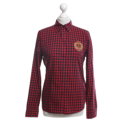 Ralph Lauren Blouse in black and red