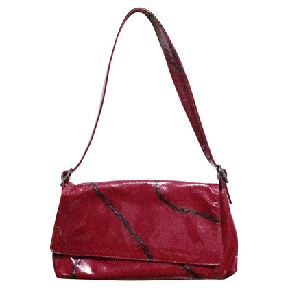 Coccinelle Coccinelle bag in fuchsia paint