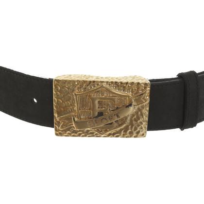 Escada Waist belt with application