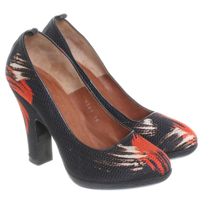 Dries van Noten pumps met print