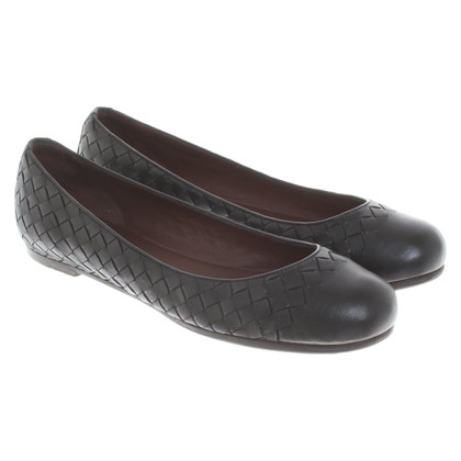 Bottega Veneta Ballerine in nero